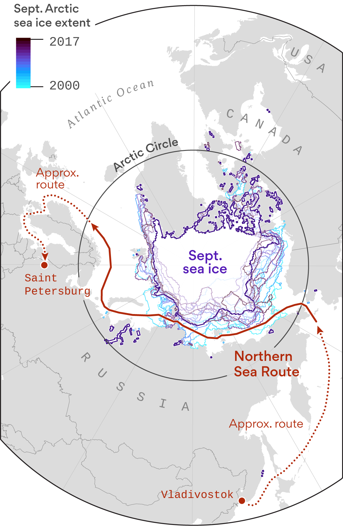 Climate change is opening a new era in Arctic shipping