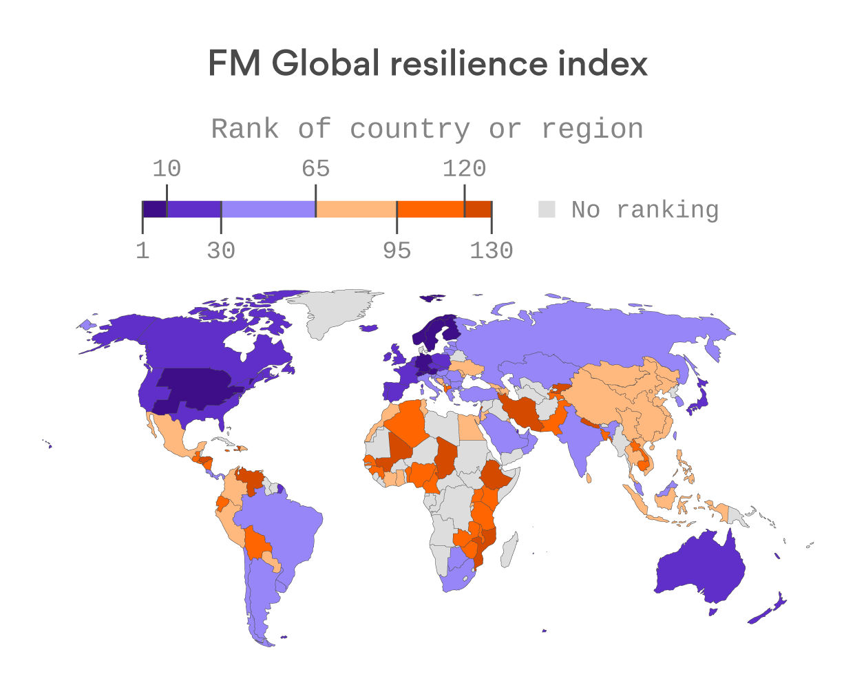 Norway is the world's most economically resilient country